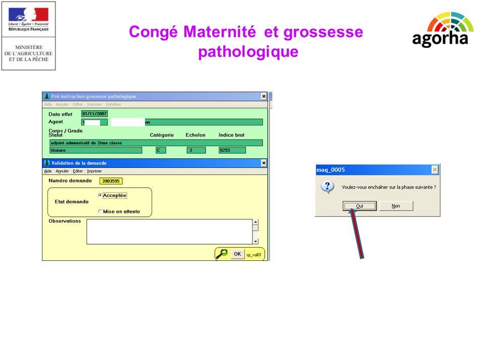 EPICEA Congé Maternité et grossesse pathologique