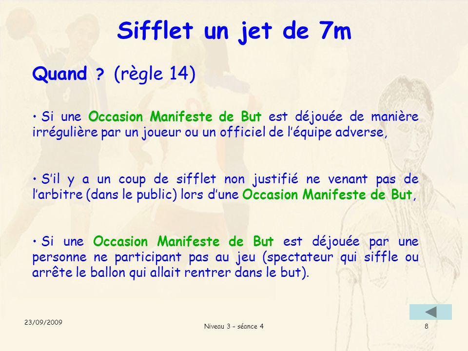 Niveau 3 – séance 49 Définition dune O.M.B OM Quest-ce quune Occasion Manifeste de But .