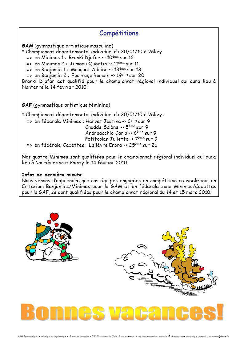 ASM Gymnastique Artistique et Rythmique - 15 rue de Lorraine - 78200 Mantes la Jolie. Site internet : http://as-mantaise..asso.fr Gymnastique artistiq