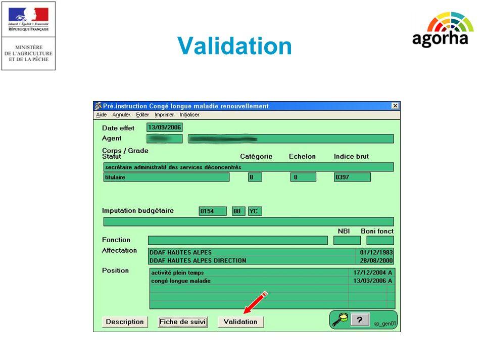 SG/SRH/MISIRH Validation