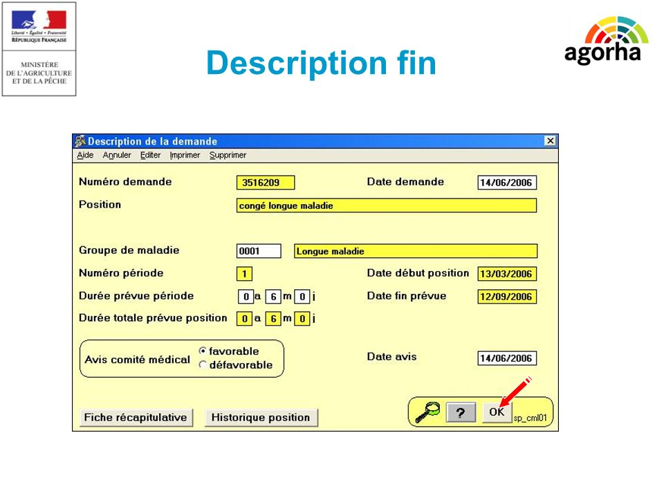 SG/SRH/MISIRH Description fin