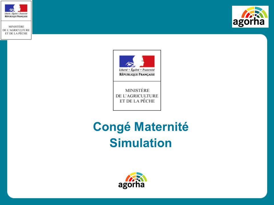 Congé Maternité Simulation