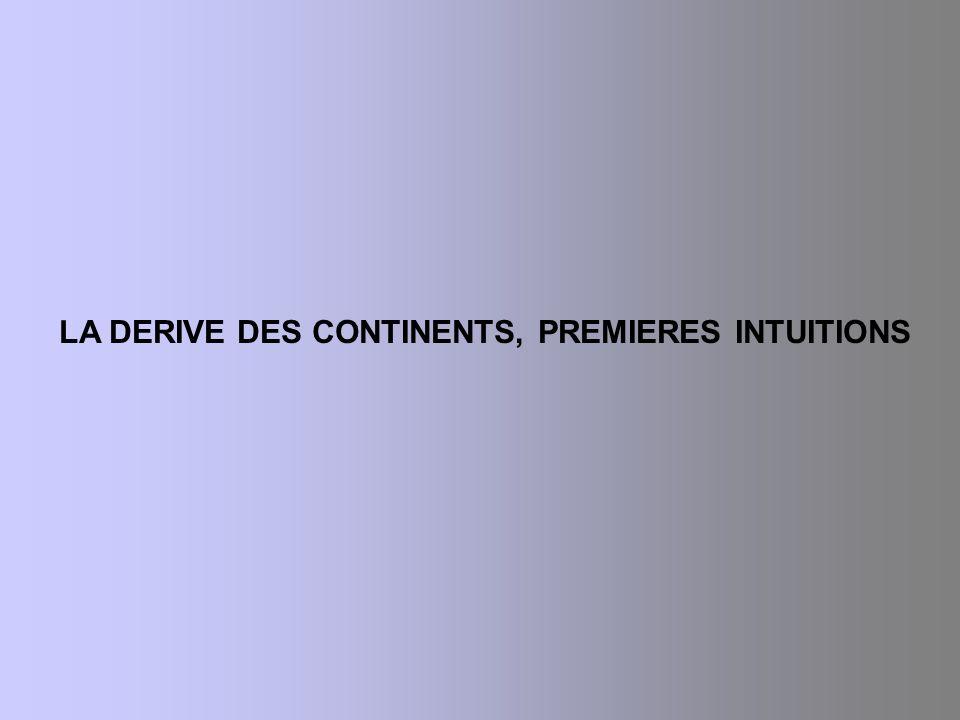 LE RENFORCEMENT DU MODELE DE LA TECTONIQUE DES PLAQUES 1.
