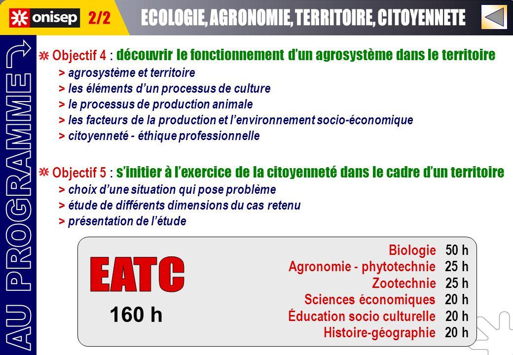 Objectif 4 : découvrir le fonctionnement dun agrosystème dans le territoire > agrosystème et territoire > les éléments dun processus de culture > le p