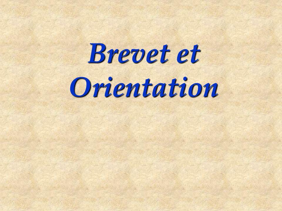 Brevet et Orientation
