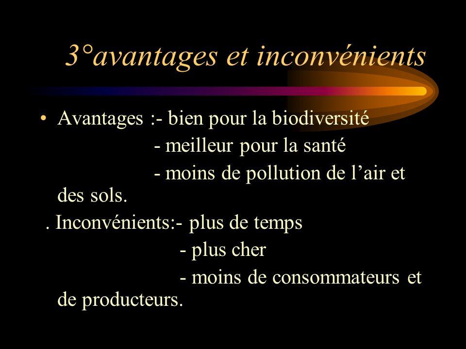 2°En France Depuis les années 1970, lAB est en constant développement. 90% des français estiment que les produits issus de lAB contribuent à préserver