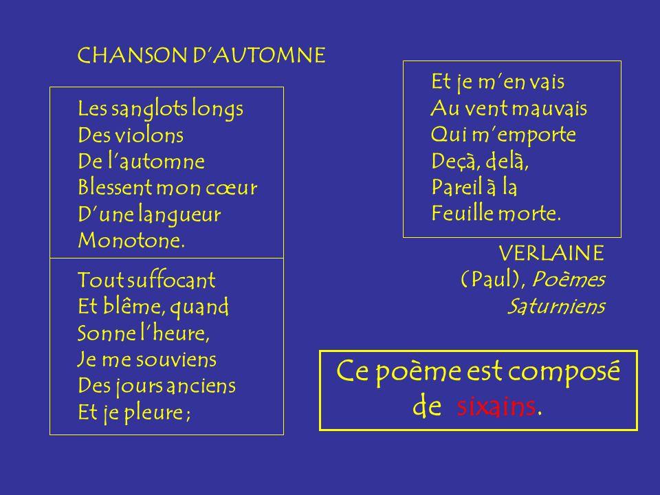 rondeau Un rondeau est un poème de 1 quintil, 1 tercet 1 quintil, écrit sur 2 rimes (aabba- aab- aabba).