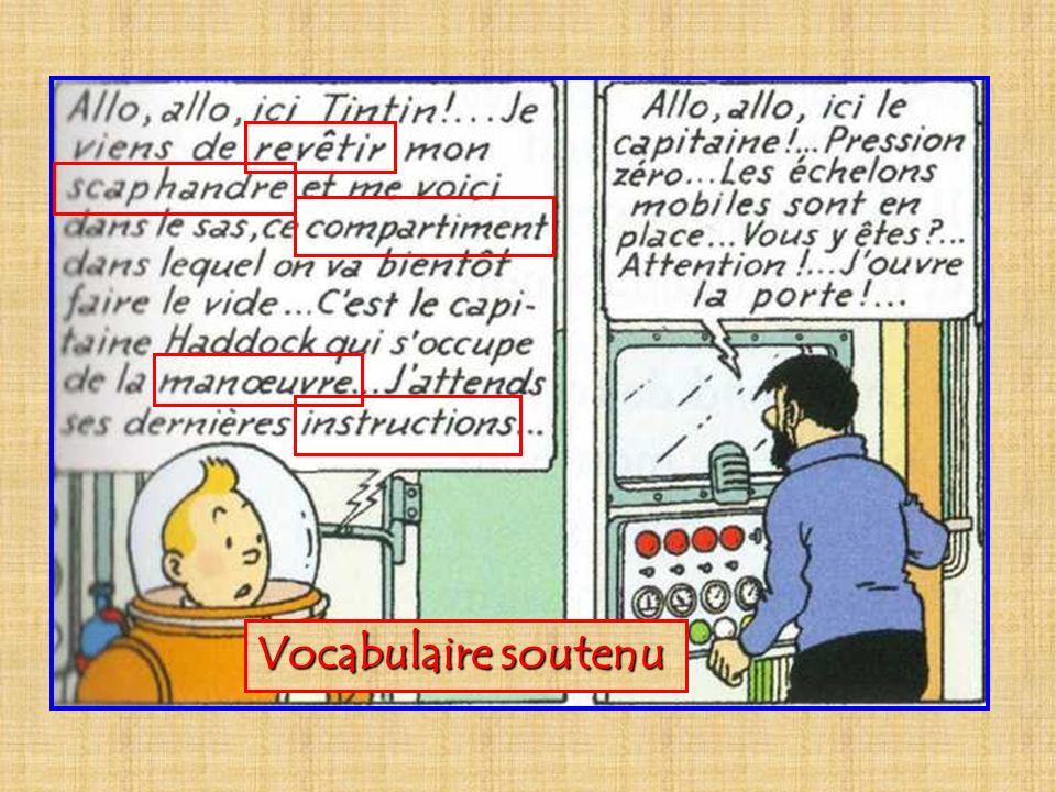 Vocabulaire soutenu