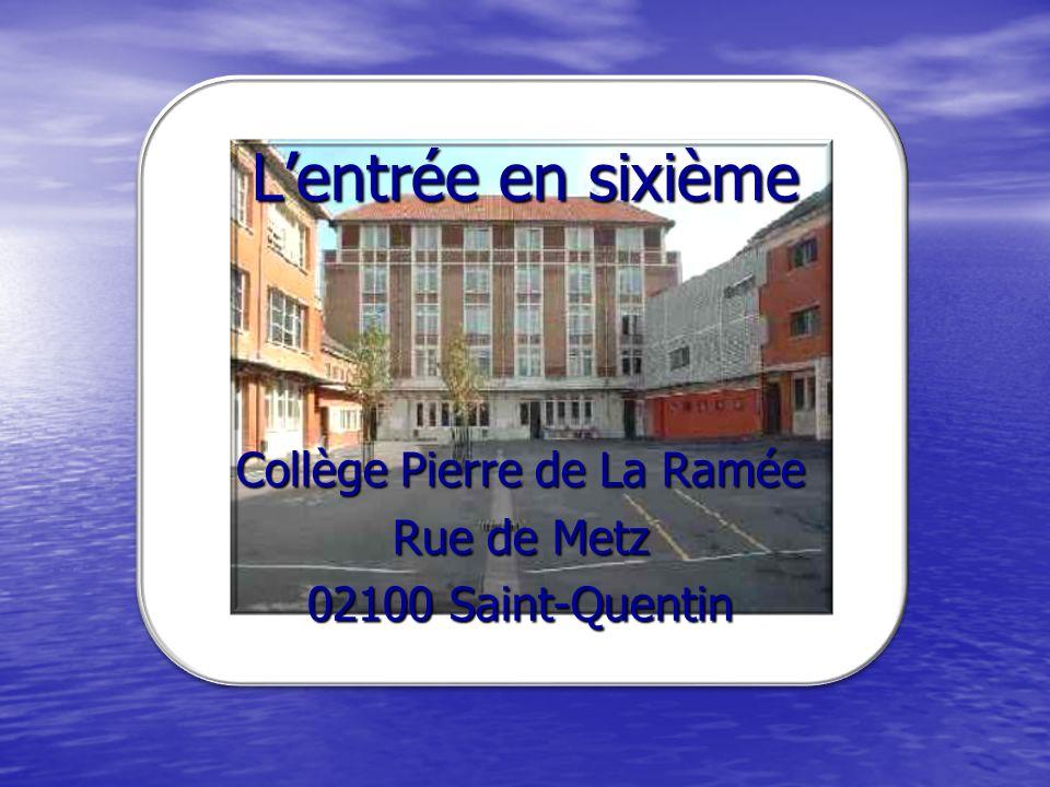 Les nouveautés du collège La Ramée en 2010 2011.