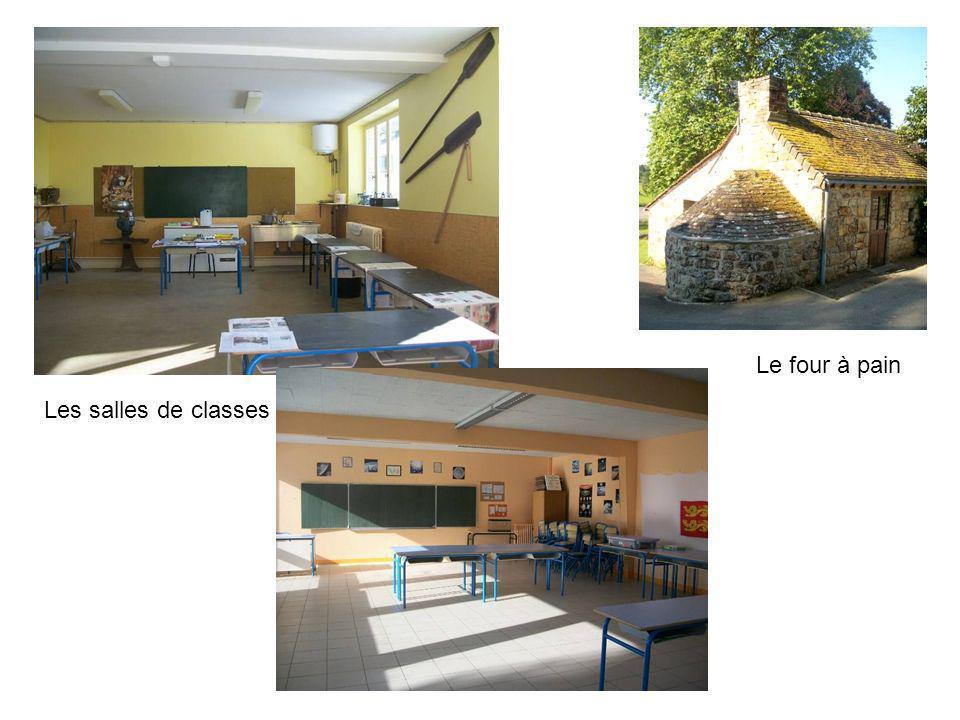 Le four à pain Les salles de classes