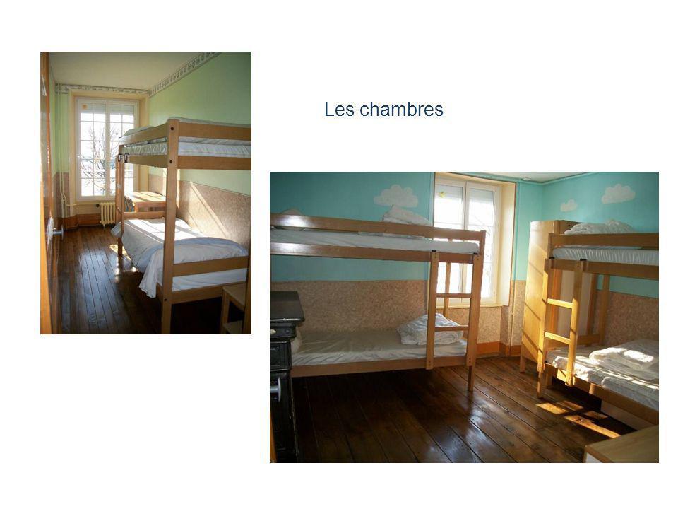 Les chambres