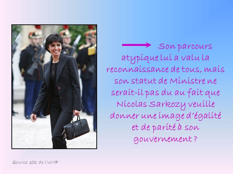 Son parcours atypique lui a valu la reconnaissance de tous, mais son statut de Ministre ne serait-il pas du au fait que Nicolas Sarkozy veuille donner