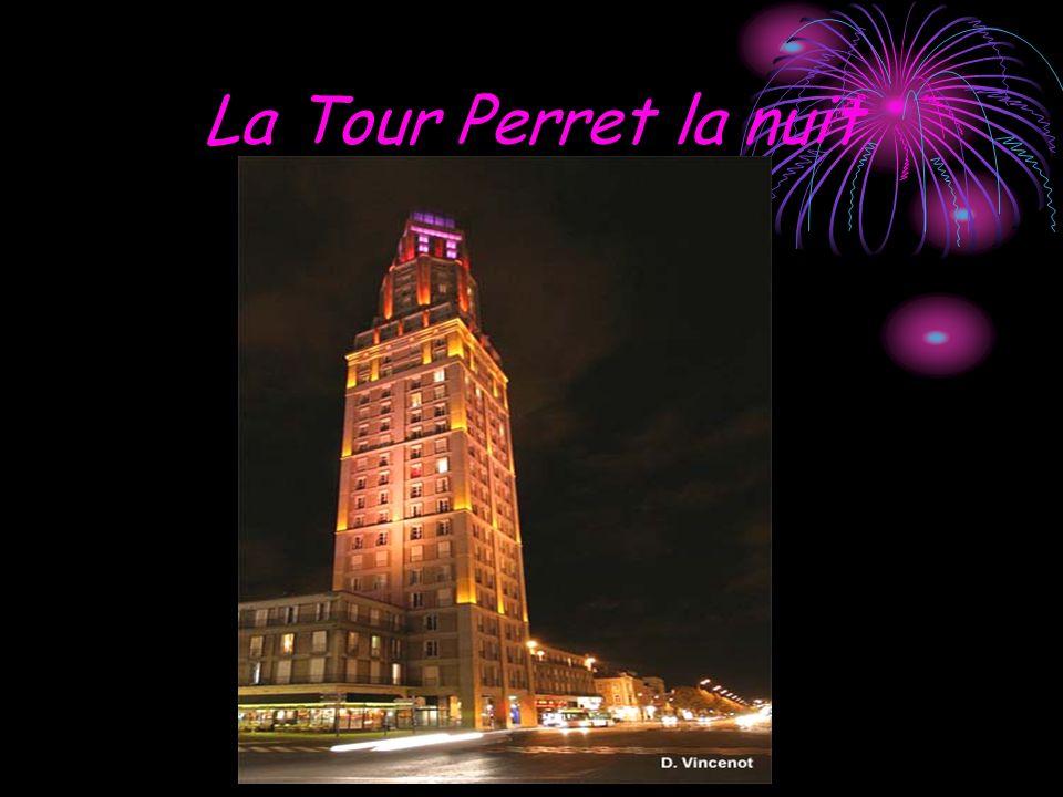 La Tour Perret la nuit