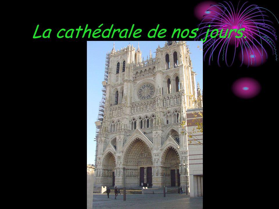La cathédrale de nos jours.