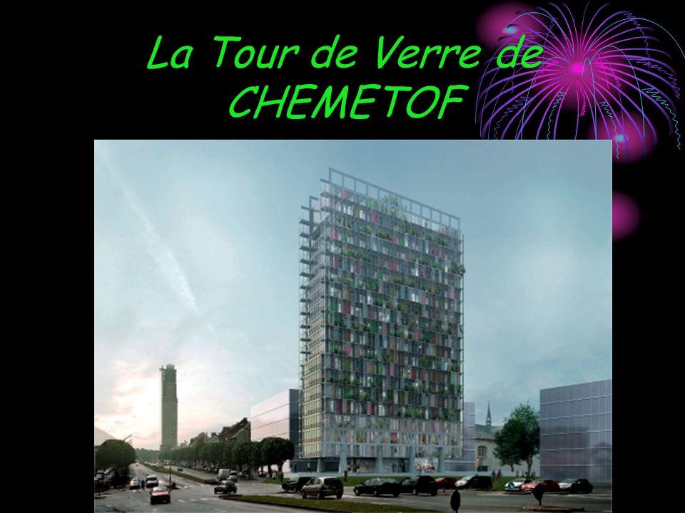 La Tour de Verre de CHEMETOF