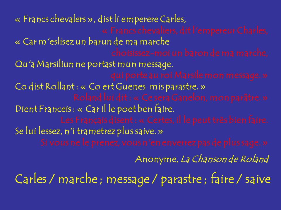 message / parastre faire / saivefaire / saive : son commun « ai » message / parastre ; faire / saive message / parastre : son commun « a » Quels sont les sons communs aux deux mots .