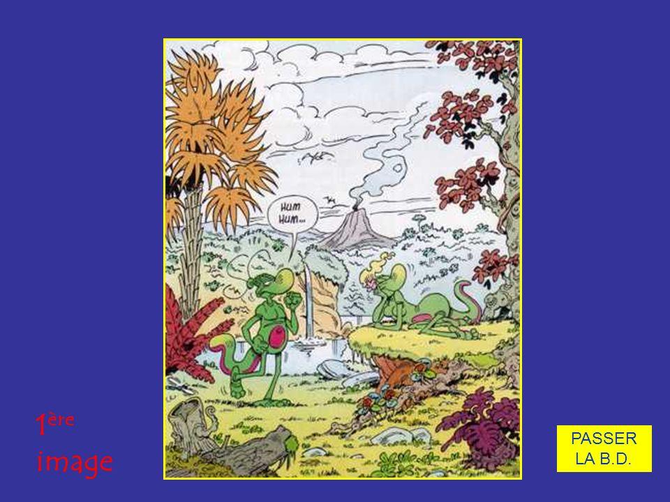 PASSER LA B.D. Observons une bande dessinée. 1 ère image