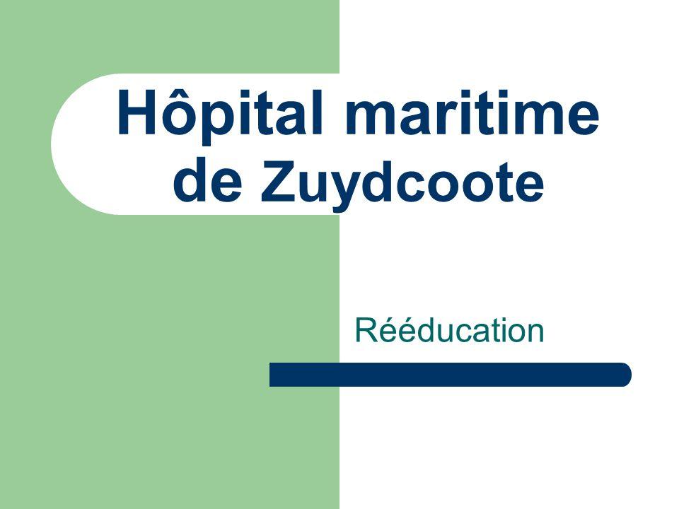 Hôpital maritime de Zuydcoote Rééducation