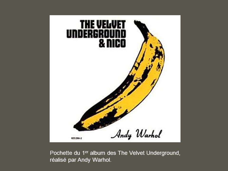 Pochette du 1 er album des The Velvet Underground, réalisé par Andy Warhol.