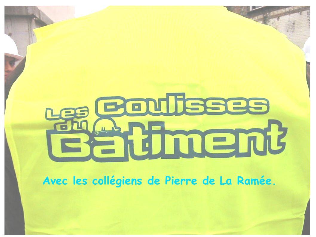 Avec les collégiens de Pierre de La Ramée.