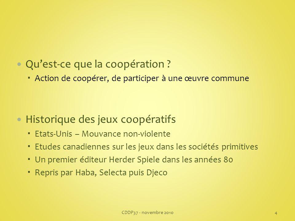 Quest-ce que la coopération .