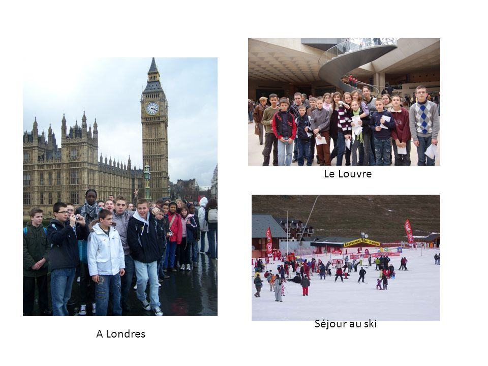 A Londres Le Louvre Séjour au ski