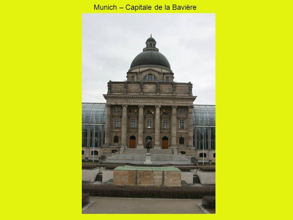 Munich – Capitale de la Bavière