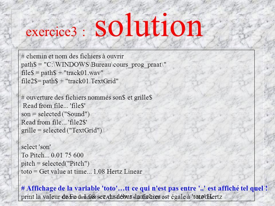Cédric Gendrot - TAL SLOW 5 - 2003-2004 - ILPGA # chemin et nom des fichiers à ouvrir path$ =