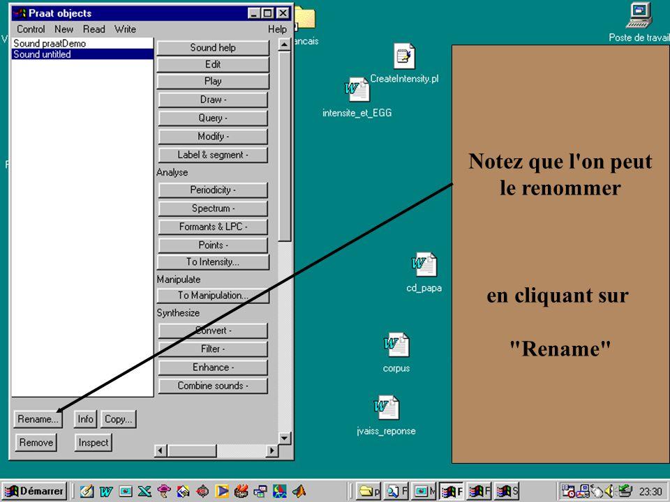 Cédric Gendrot - TAL SLOW 5 - 2003-2004 - ILPGA 33 Notez que l'on peut le renommer en cliquant sur