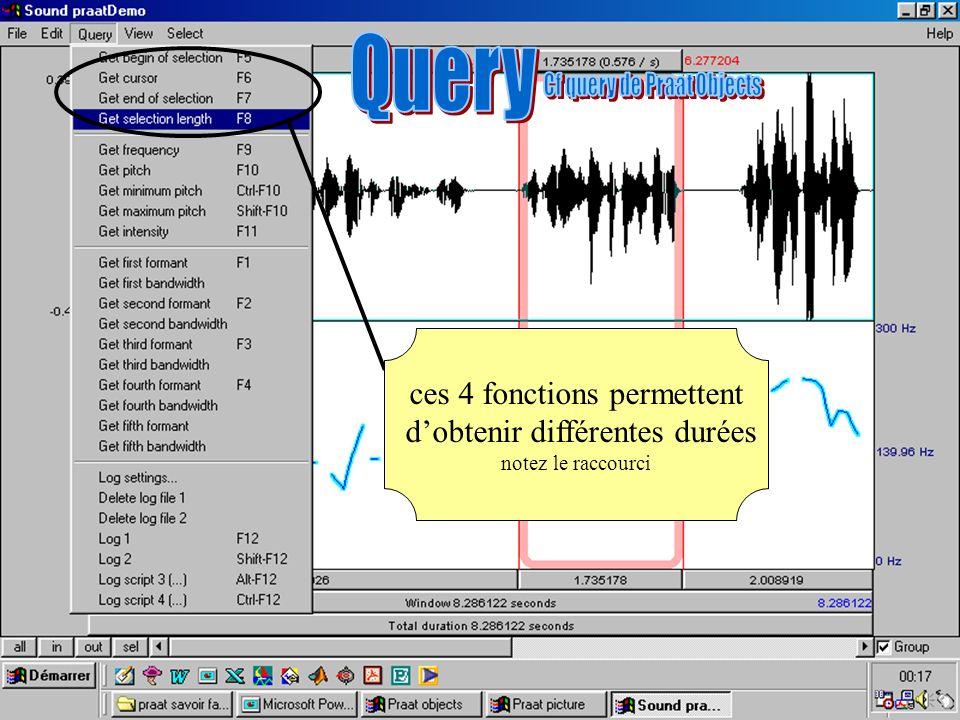 Cédric Gendrot - TAL SLOW 5 - 2003-2004 - ILPGA 53 ces 4 fonctions permettent dobtenir différentes durées notez le raccourci
