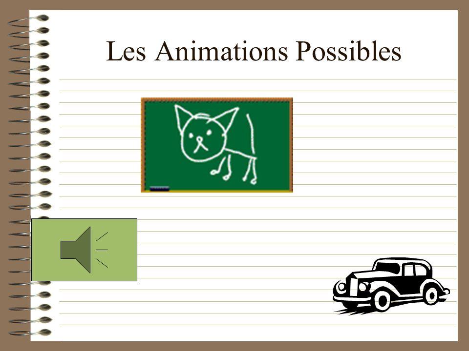 Égayez Vos Présentations Ajoutez du son, des images, des animations