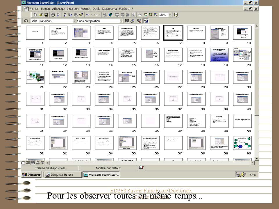 ED268 Savoir-Faire Ecole Doctorale, Cédric Gendrot raccourci