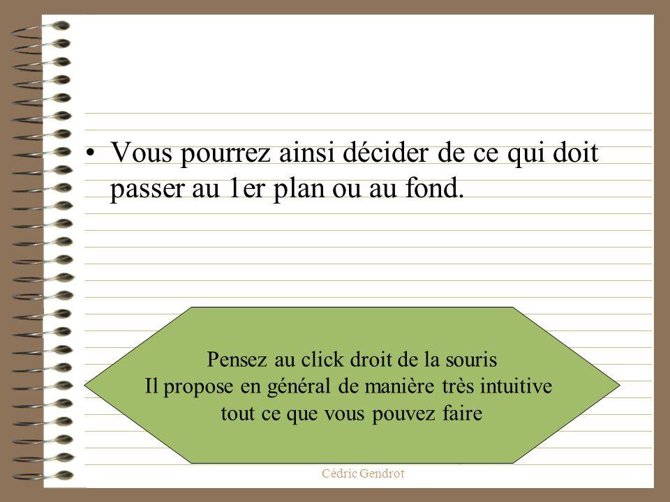 ED268 Savoir-Faire Ecole Doctorale, Cédric Gendrot Grâce à la souris Cliquez sur le bouton droit. Et voici ce que vous obtenez.
