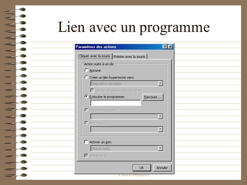 ED268 Savoir-Faire Ecole Doctorale, Cédric Gendrot Les liens possibles