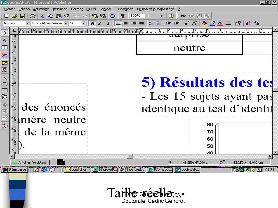 ED268 Savoir-Faire Ecole Doctorale, Cédric Gendrot Taille réelle...