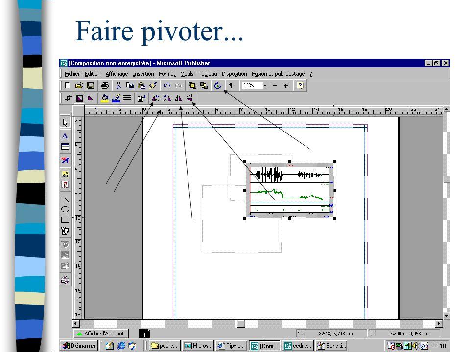 ED268 Savoir-Faire Ecole Doctorale, Cédric Gendrot Faire pivoter...