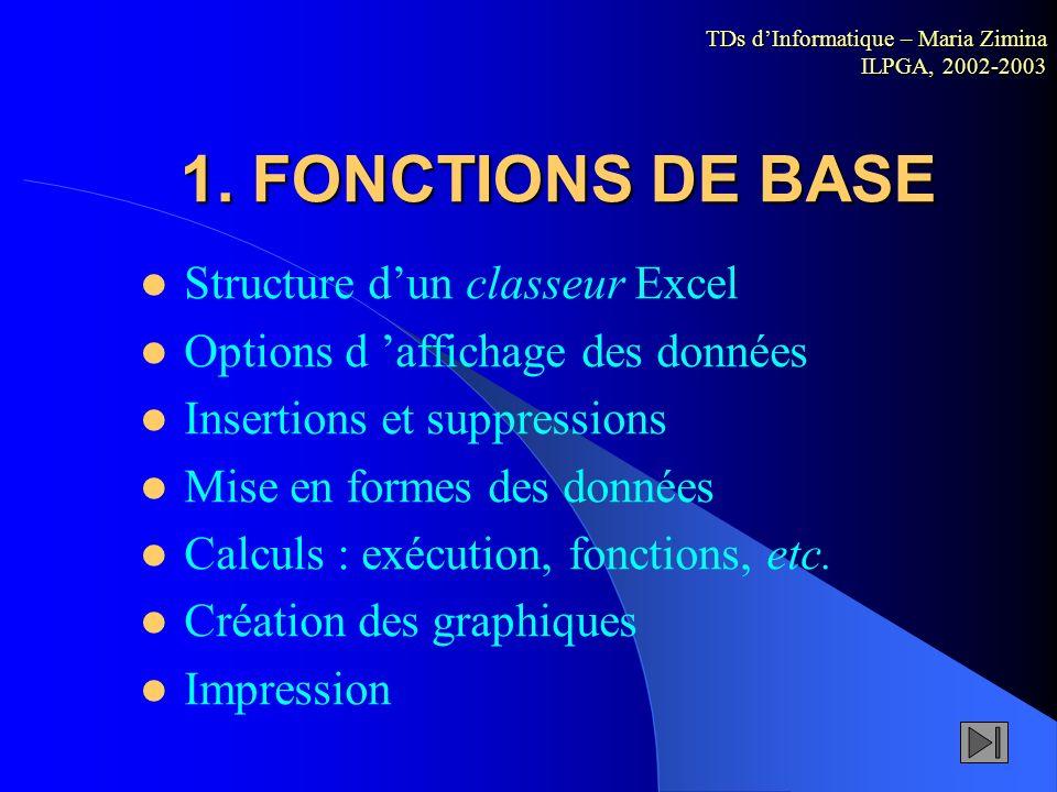 Introduction EXCEL EXCEL est un logiciel de Microsoft permettant la création, la manipulation et lédition de données organisées sous forme de tableaux