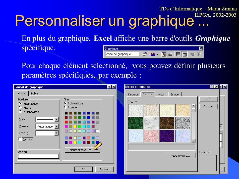 Création des graphiques (étape 4) Assistant graphique, étape 4 de 4, Localisation du graphique. Le graphique est créé soit sur une nouvelle feuille, s