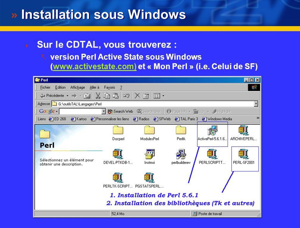 @ SF 2001 Perl & Perl/TK une introduction par l exemple Serge Fleury ILPGA - Université de la Sorbonne nouvelle Paris 3 Serge Fleury ILPGA - Universit
