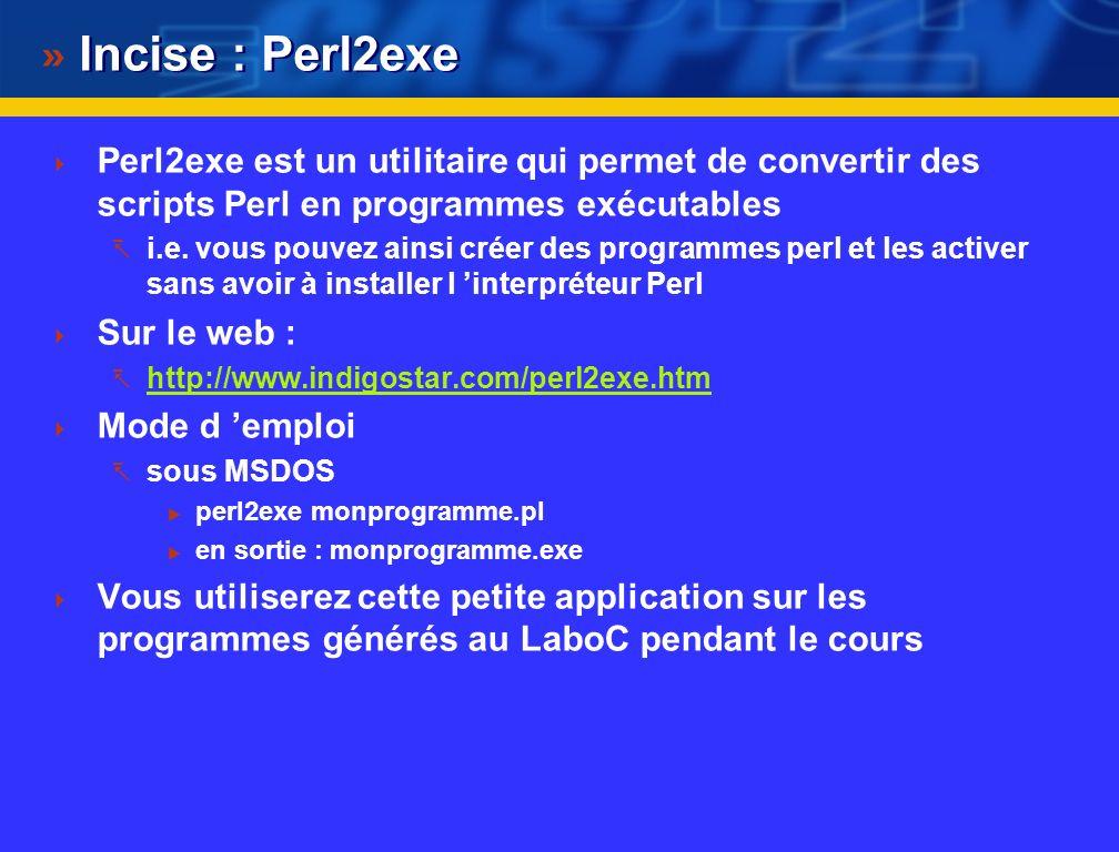 Lancement du programme Solution 1 : pour activer le script perl calceuro.pl Démarrer MSDOS ou Cygwin-Beta20 Placer vous dans le répertoire où se trouv