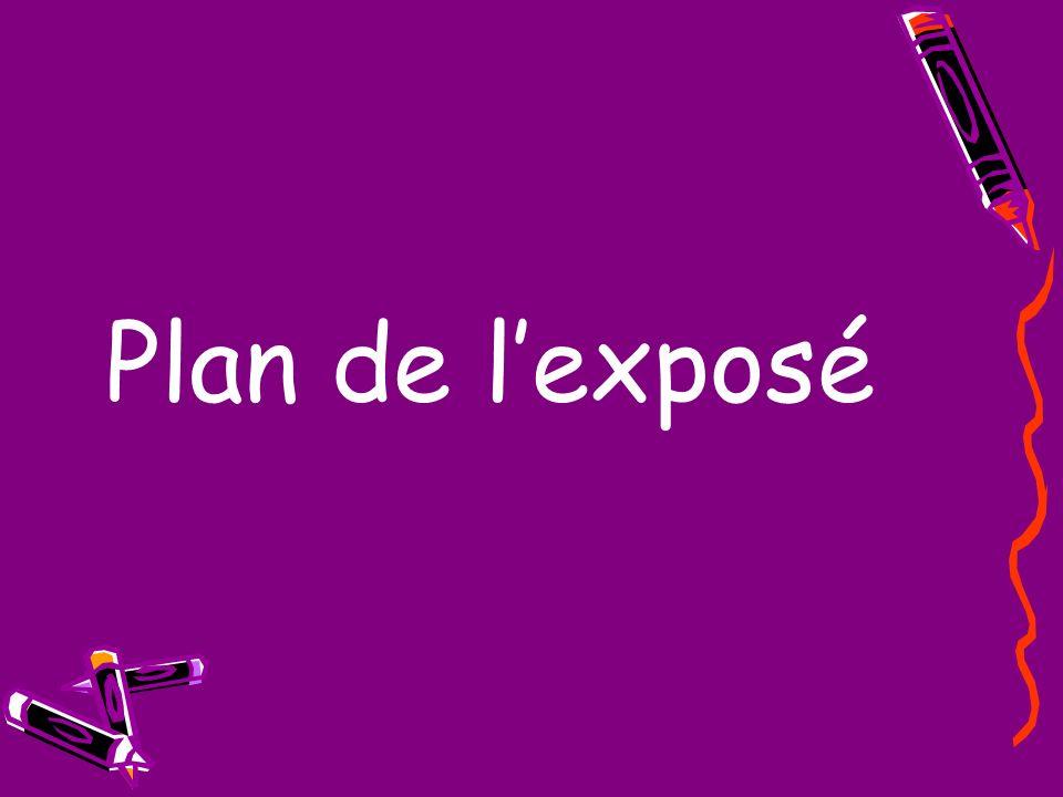 Plan de lexposé