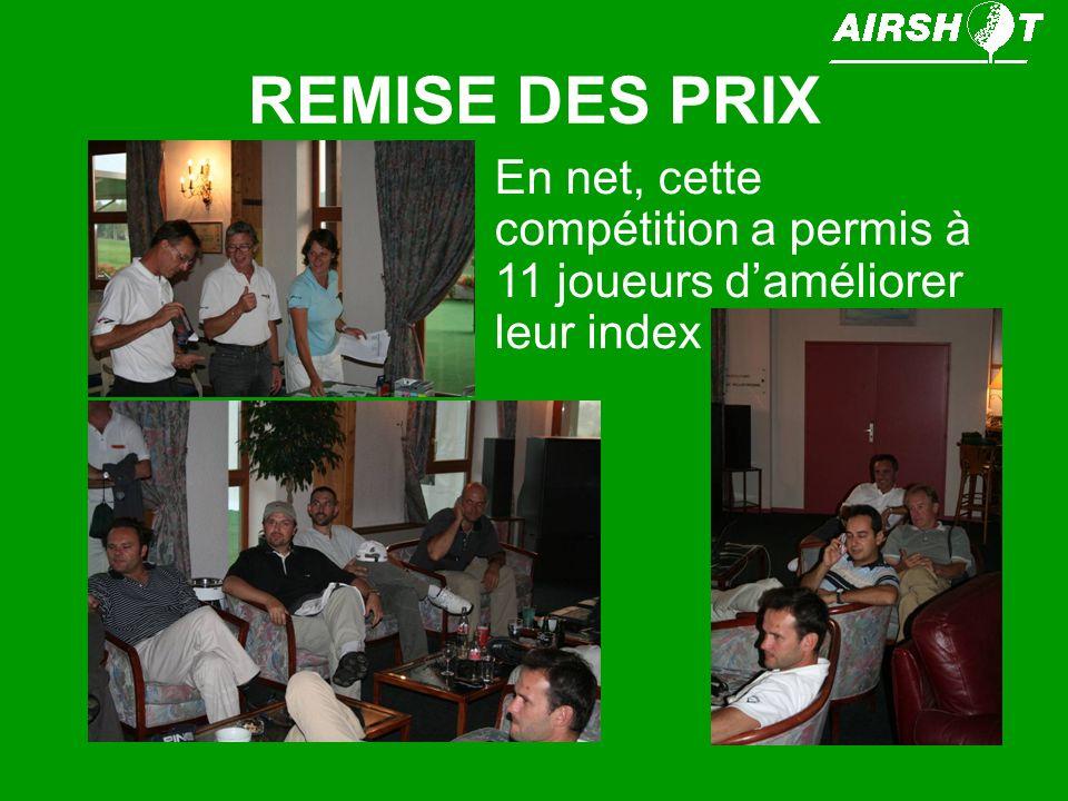 FELICITATIONS Nous pouvons féliciter Gérard ROBERT qui est devenu Champion Ile de France en foursome net dans la catégorie sénior.