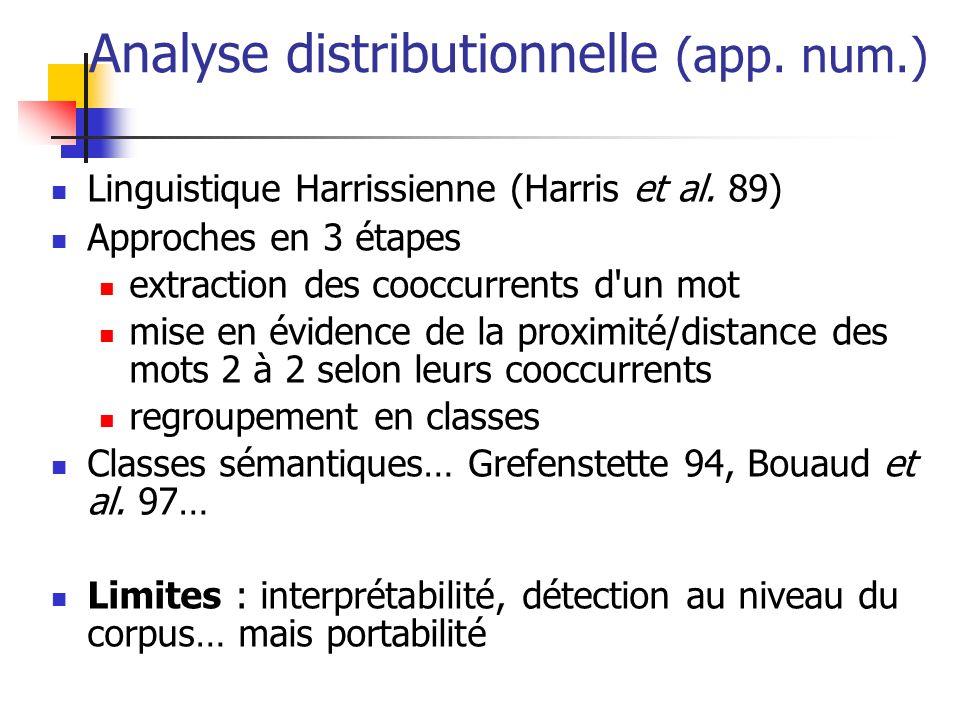 Approche linguistique (app.