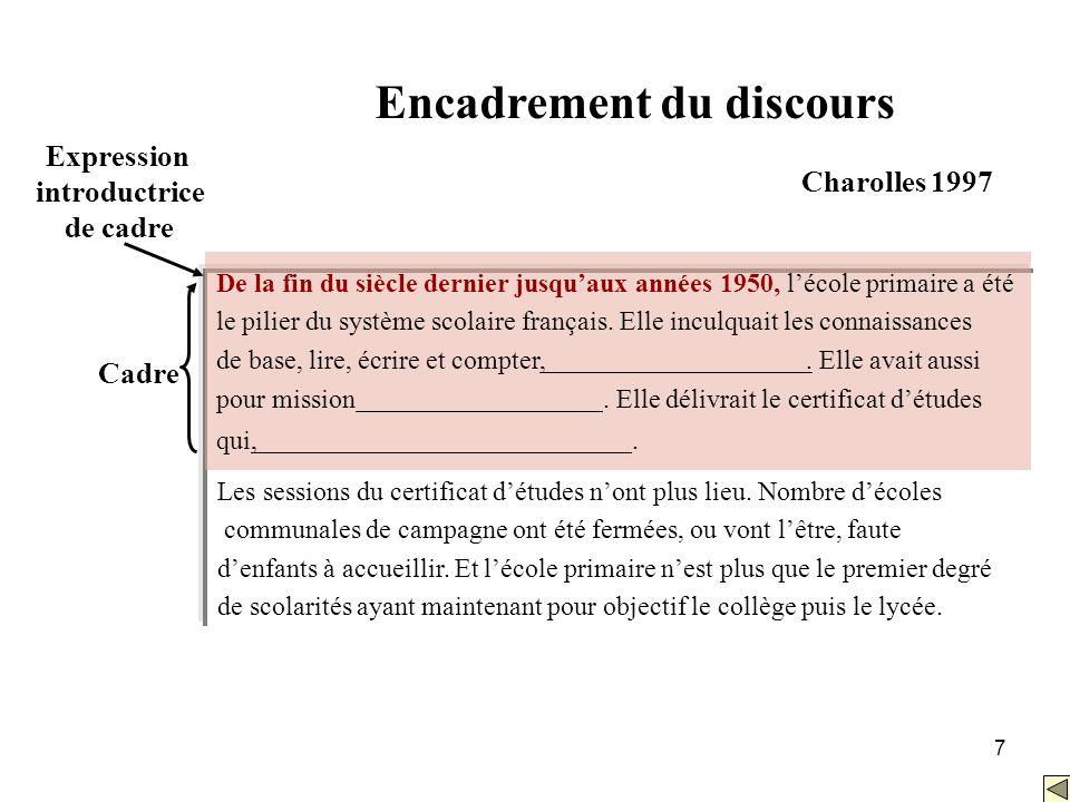 8 Références: Bilhaut, F., Ho-Dac, M., Borillo, A., Charnois, T., Enjalbert, P., Le Draoulec, A., Mathet, Y., Miguet, H., Péry-Woodley, M.-P., & Sarda, L.