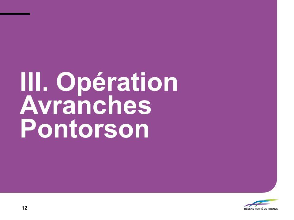 12 III. Opération Avranches Pontorson