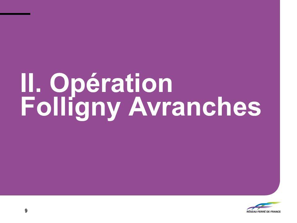 9 II. Opération Folligny Avranches
