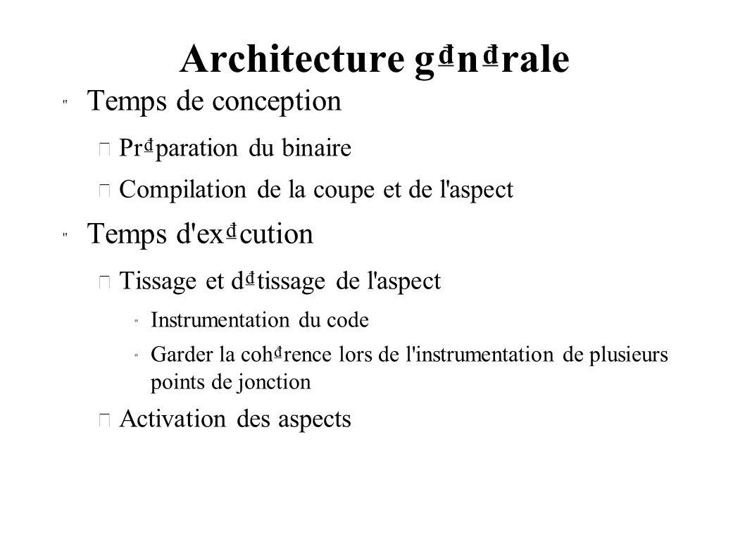 Architecture gnrale