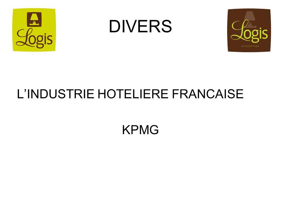 DIVERS LINDUSTRIE HOTELIERE FRANCAISE KPMG