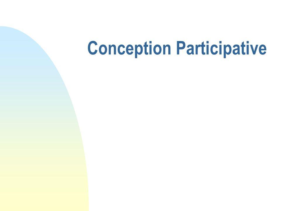 Conception Participative