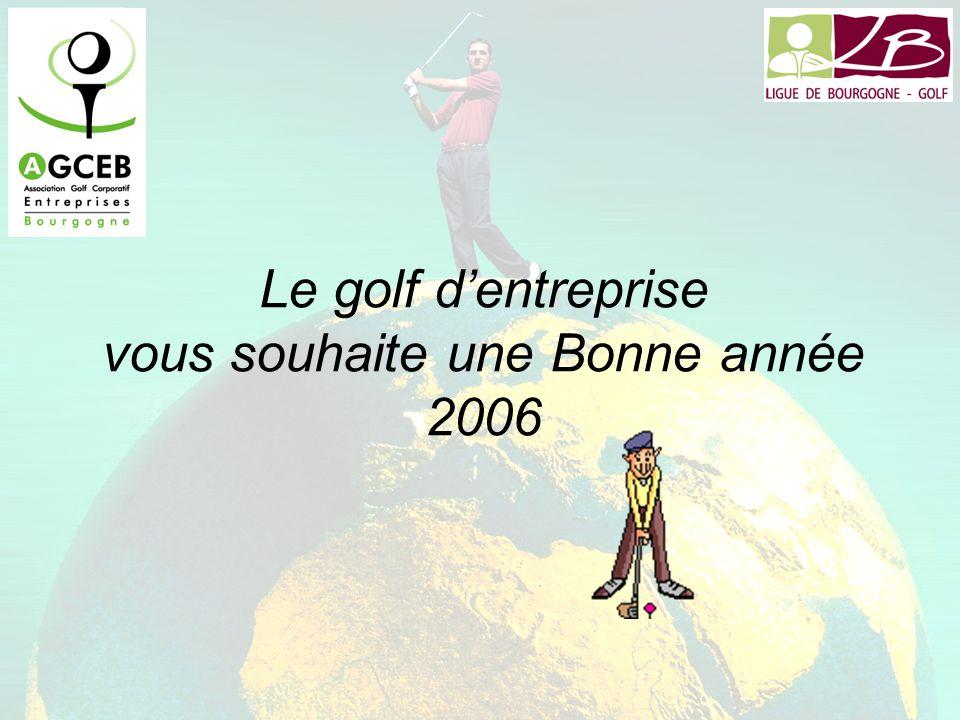 Le golf dentreprise vous souhaite une Bonne année 2006